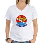 VA-15 Women's V-Neck T-Shirt