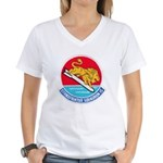 VFA-15 Women's V-Neck T-Shirt