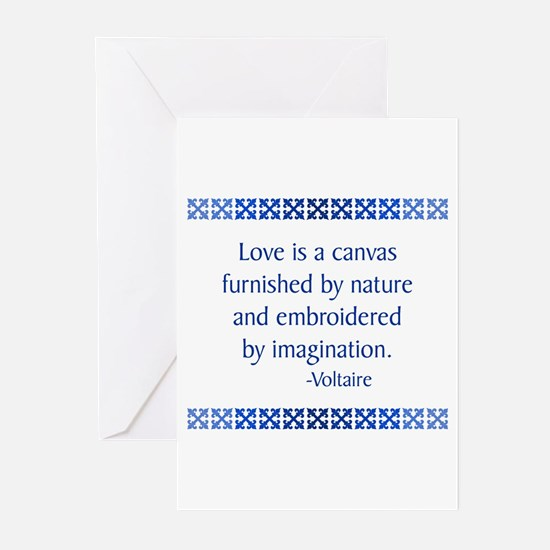 Voltaire Greeting Cards (Pk of 10)