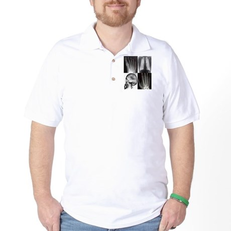 4squarexray B Golf Shirt