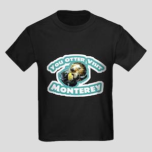 Monterey Otter Kids Dark T-Shirt