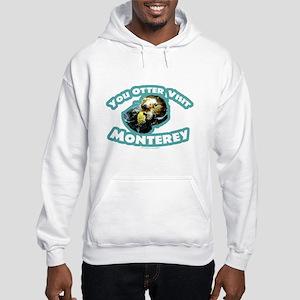 Monterey Otter Hooded Sweatshirt