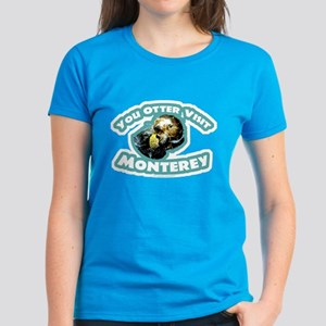 Monterey Otter Women's Dark T-Shirt