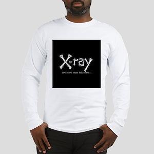 xray square Long Sleeve T-Shirt