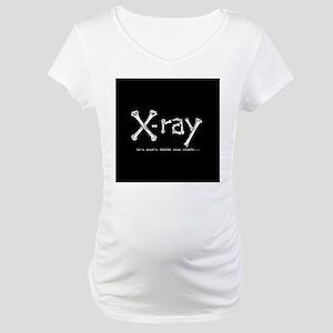 xray square Maternity T-Shirt