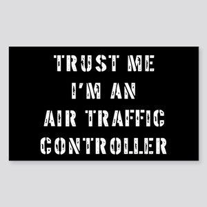 Air Traffic Controller Rectangle Sticker