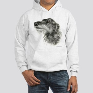 Scottish Deerhound Hooded Sweatshirt