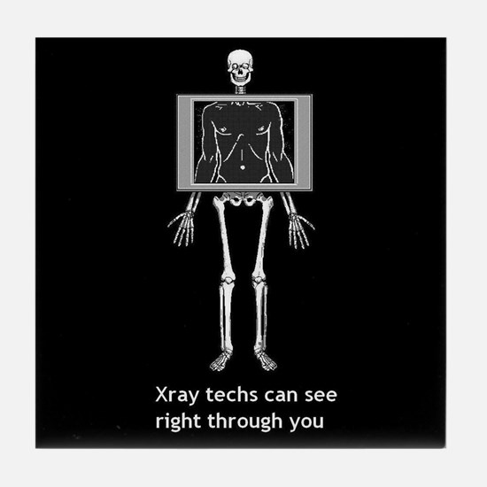 Cool X ray tech Tile Coaster