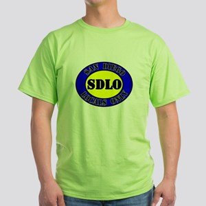 SAN DIEGO LOCALS ONLY Green T-Shirt