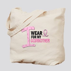 I Wear Pink For My Godmother 21 Tote Bag