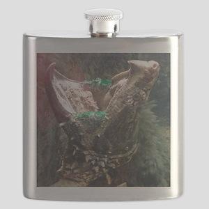 Alligator Snapper Big Mouth Flask