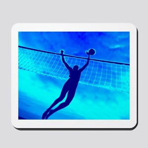 VOLLEYBALL BLUE Mousepad