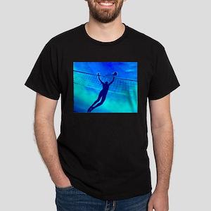 VOLLEYBALL BLUE Dark T-Shirt
