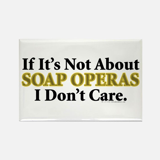 Soap Operas Rectangle Magnet