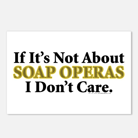 Soap Operas Postcards (Package of 8)
