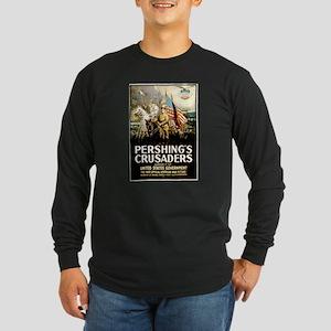 Pershing's Crusaders Long Sleeve Dark T-Shirt