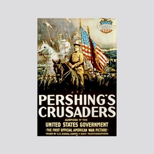 Pershing's Crusaders Rectangle Magnet