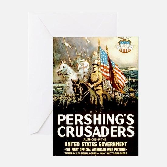 Pershing's Crusaders Greeting Card