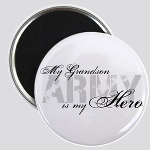Grandson is my Hero ARMY Magnet