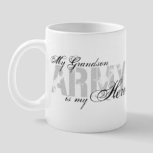 Grandson is my Hero ARMY Mug