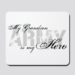 Grandson is my Hero ARMY Mousepad
