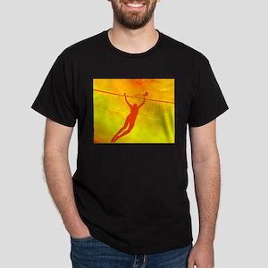 VOLLEYBALL ORANGE Dark T-Shirt