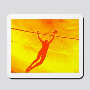 VOLLEYBALL ORANGE Mousepad
