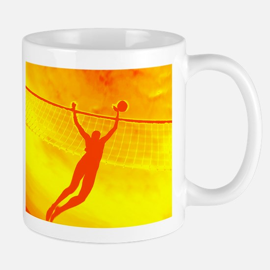 VOLLEYBALL ORANGE Mug