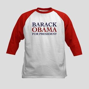Barack Obama for President Kids Baseball Jersey