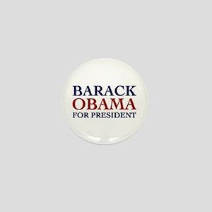 Barack Obama for President Mini Button