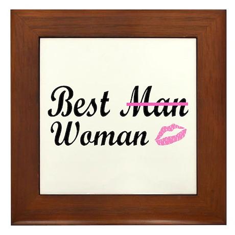 Best Woman Framed Tile