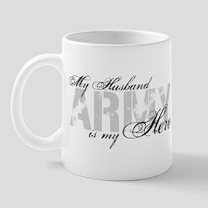 Husband is my Hero ARMY Mug