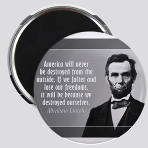 Lincoln Quote Aneruca Magnets