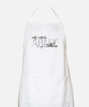 Mother is my Hero ARMY BBQ Apron