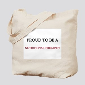 Proud to be a Nutritional Therapist Tote Bag