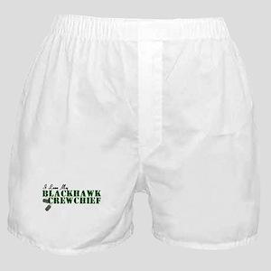 Love My Blackhawk Boxer Shorts