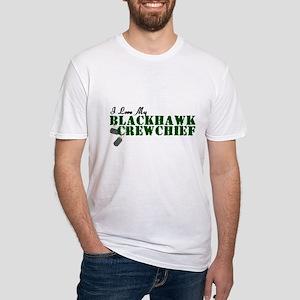 Love My Blackhawk Fitted T-Shirt
