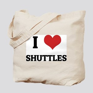 I Love Shuttles Tote Bag