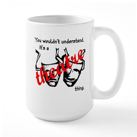 Theatre Large Mug