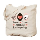 Forensic anthropology Canvas Tote Bag