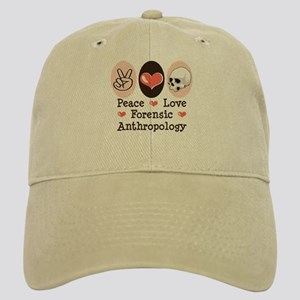 Peace Love Forensic Anthropology Cap