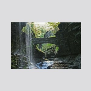 Scenery At Watkins Glen Rectangle Magnet
