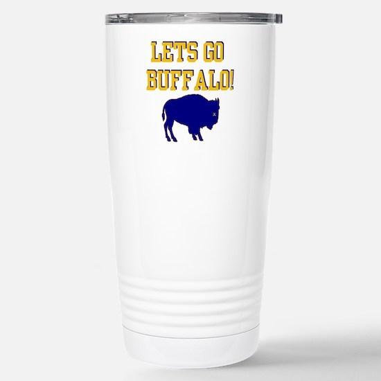 Buffalo Hockey Stainless Steel Travel Mug