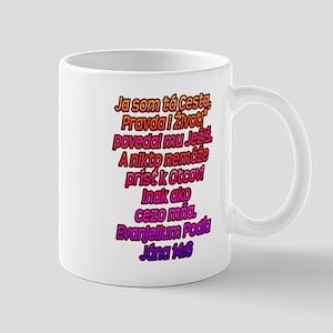 John 14:6 Slovak Mug