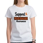 Support Leukemia Awareness Women's T-Shirt