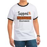 Support Leukemia Awareness Ringer T