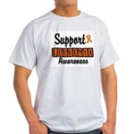 Support Leukemia Awareness Light T-Shirt