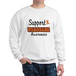 Support Leukemia Awareness Sweatshirt