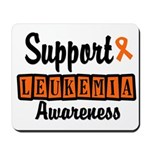 Support Leukemia Awareness Mousepad