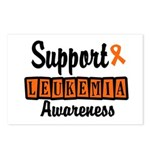 Support Leukemia Awareness Postcards (Package of 8